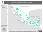 Mapa ilustrativo de Áreas de Importancia para la Conservación de las Aves