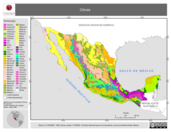 Mapa ilustrativo de Climas