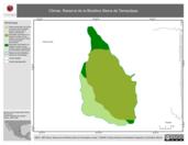 Mapa ilustrativo de Climas. Reserva de la Biosfera Sierra de Tamaulipas