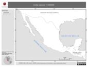 Mapa ilustrativo de Límite Nacional 1:1000000