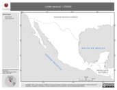 Mapa ilustrativo de Límite Nacional 1:250000