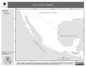 Mapa ilustrativo de Límite Nacional 1:4000000