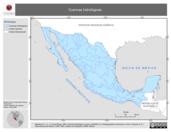 Mapa ilustrativo de Cuencas hidrológicas (IG)