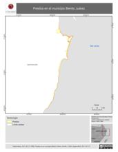 Mapa ilustrativo de Predios en el municipio Benito Juárez