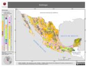 Mapa ilustrativo de Edafología