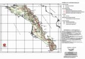 Mapa ilustrativo de Mapa base del estado de Baja California Sur