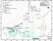 Mapa ilustrativo de Mapa base del estado de Campeche. En formato Geotiff
