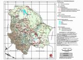 Mapa ilustrativo de Mapa base del estado de Chihuahua