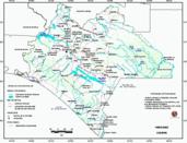 Mapa ilustrativo de Mapa base del estado de Chiapas. En formato Geotiff