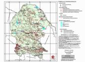 Mapa ilustrativo de Mapa base del estado de Coahuila de Zaragoza