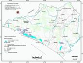 Mapa ilustrativo de Mapa base del estado de Colima. En formato Geotiff