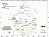 Mapa ilustrativo de Mapa base del estado del Distrito Federal. En formato Geotiff