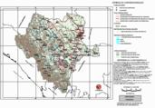 Mapa ilustrativo de Mapa base del estado de Durango