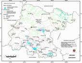 Mapa ilustrativo de Mapa base del estado de Guanajuato. En formato Geotiff