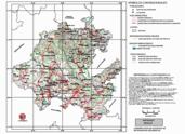 Mapa ilustrativo de Mapa base del estado de Hidalgo