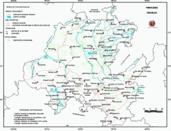 Mapa ilustrativo de Mapa base del estado de Hidalgo. En formato Geotiff