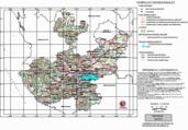 Mapa ilustrativo de Mapa base del estado de Jalisco