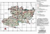 Mapa ilustrativo de Mapa base del estado de Michoacán de Ocampo