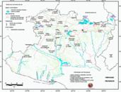 Mapa ilustrativo de Mapa base del estado de Michoacán de Ocampo. En formato Geotiff