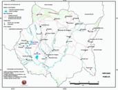 Mapa ilustrativo de Mapa base del estado de Morelos. En formato Geotiff