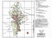 Mapa ilustrativo de Mapa base del estado de Nuevo León