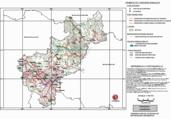 Mapa ilustrativo de Mapa base del estado de Querétaro de Arteaga