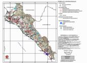 Mapa ilustrativo de Mapa base del estado de Sinaloa