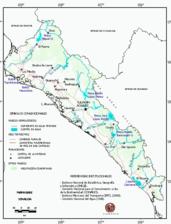 Mapa ilustrativo de Mapa base del estado de Sinaloa. En formato Geotiff