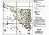 Mapa ilustrativo de Mapa base del estado de Sonora