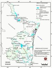 Mapa ilustrativo de Mapa base del estado de Tamaulipas. En formato Geotiff