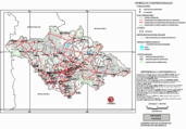 Mapa ilustrativo de Mapa base del estado de Tlaxcala