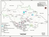 Mapa ilustrativo de Mapa base del estado de Tlaxcala. En formato Geotiff