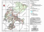 Mapa ilustrativo de Mapa base del estado de Zacatecas