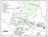 Mapa ilustrativo de Mapa base del estado de Zacatecas. En formato Geotiff