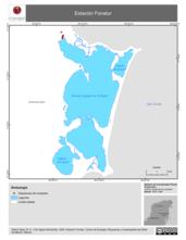 Mapa ilustrativo de Estación Fonatur
