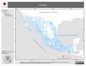 Mapa ilustrativo de Hidrografía