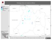 Mapa ilustrativo de Hidrología léntica del estado de México
