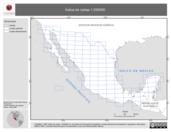Mapa ilustrativo de Índice de cartas 1:250000