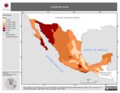 Mapa ilustrativo de Insolación Anual (en polígonos)