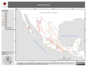 Mapa ilustrativo de Insolación Anual (en isolíneas)