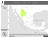 Mapa ilustrativo de Canseco, P. La proyección citada, es exclusiva para el diseño de esta imagen.