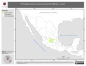 Mapa ilustrativo de Méndez, ('Juan'). La proyección citada, es exclusiva para el diseño de esta imagen.