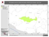 Mapa ilustrativo de Martínez de Lexarza, Juan José. La proyección citada, es exclusiva para el diseño de esta imagen.