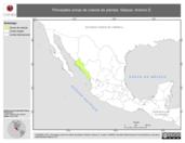 Mapa ilustrativo de Salazar, Antonio E. La proyección citada, es exclusiva para el diseño de esta imagen.