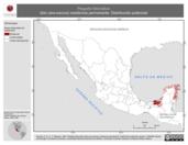 Mapa ilustrativo de Plegadis falcinellus (ibis cara-oscura) residencia permanente. Distribución potencial.