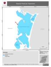 Mapa ilustrativo de Estación Planta de Tratamiento.