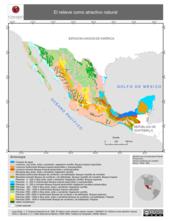 Mapa ilustrativo de El relieve como atractivo natural