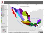 Mapa ilustrativo de Provincias Bióticas (con énfasis en criterios morfotectónicos)