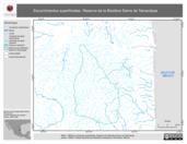 Mapa ilustrativo de Escurrimientos superficiales. Reserva de la Biosfera Sierra de Tamaulipas