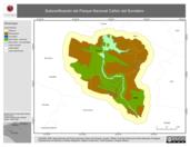 Mapa ilustrativo de Subzonificación del Parque Nacional Cañón del Sumidero